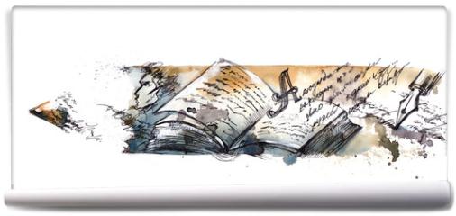 Fototapeta - literature