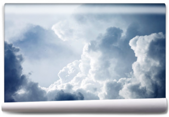 Fototapeta - Dramatic sky with stormy clouds
