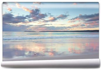 Fototapeta - Pretty pastel dawn sunrise at Hyams Beach NSW Australia
