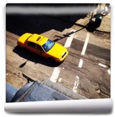 Fototapeta - Yellow Cab