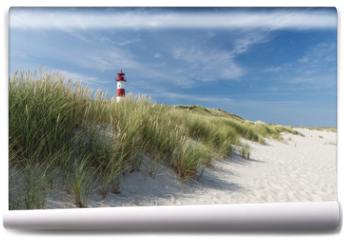 Fototapeta - Lighthouse on dune horizontal