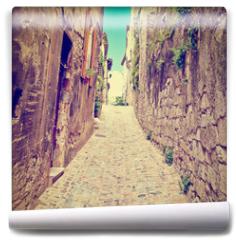 Fototapeta - Medieval City