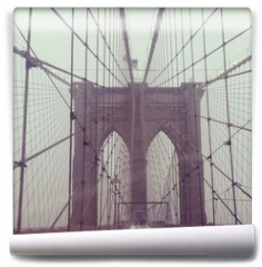 Fototapeta - Brooklynbridge, NYC, USA