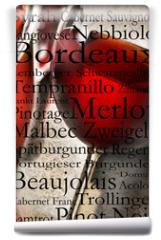 Fototapeta - Rotwein