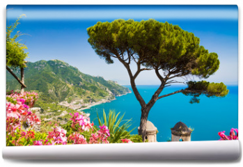 Fototapeta - Postcard view of Amalfi Coast, Ravello, Campania, Italy