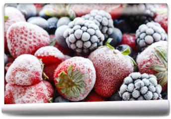 Fototapeta - frozen berries