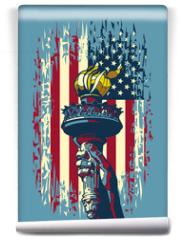 Fototapeta - Flame of Liberty