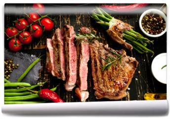 Fototapeta - steak
