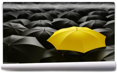 Fototapeta - yellow umbrella