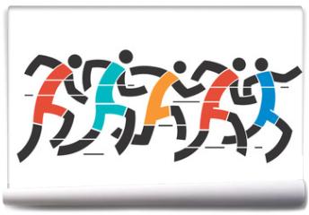 Fototapeta - Running race
