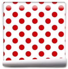 Fototapeta - Seamless polka dot pattern for Your design