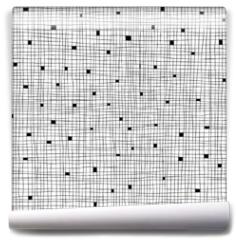 Fototapeta - Seamless Cell hand-drawn pattern