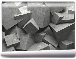Fototapeta - cubes wall
