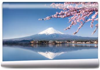 Fototapeta - Berg Fuji in Kawaguchiko Japan