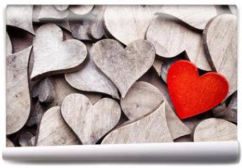 Fototapeta - Rustic heart.