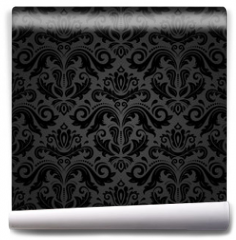 Fototapeta - Damask Seamless Vector Pattern