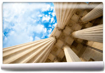 Fototapeta - Columns at the U.S. Supreme Court