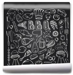 Fototapeta - Barbecue grill party