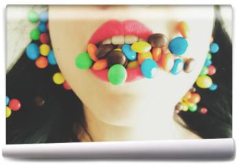 Fototapeta - Mouthful of Satisfaction