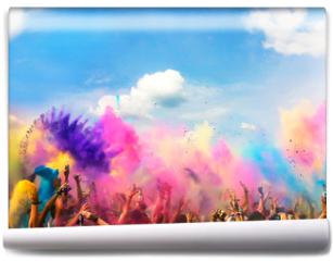 Fototapeta - Holi Festival Farben