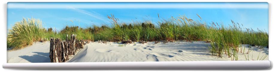 Fototapeta - Strand Dünen Panorama