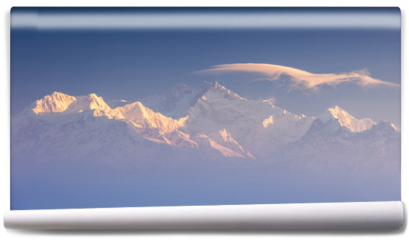 Fototapeta - Kanchenjunga range peak
