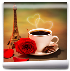 Fototapeta - Romantyczna wycieczka do Francji