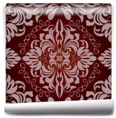Fototapeta - Abstract seamless floral pattern