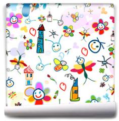 Fototapeta - background for kids