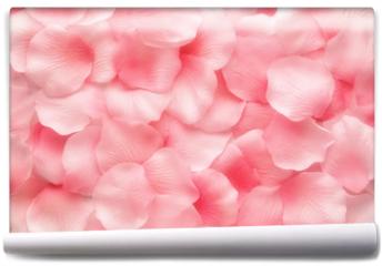 Fototapeta - Beautiful delicate pink rose petals