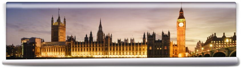 Fototapeta - Big Ben and House of Parliament