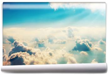 Fototapeta - Blue clouds and sky