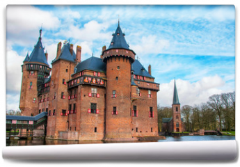 Fototapeta - Castle De Haar in the province of Utrecht