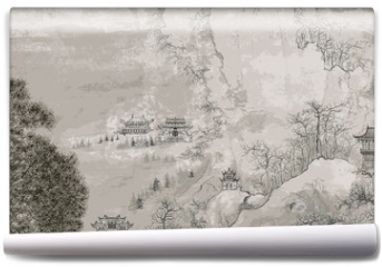 Fototapeta - Chinese landscape