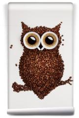 Fototapeta - Coffee owl.