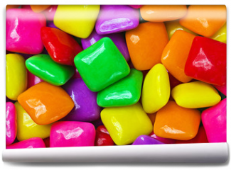 Fototapeta - colorful gum background