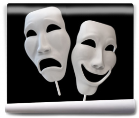 Fototapeta - Drama and comedy