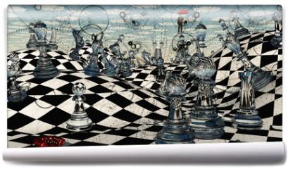 Fototapeta - Fantasy Chess