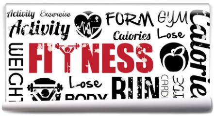Fototapeta - fitness