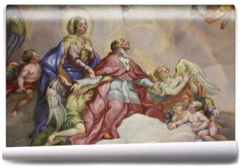 Fototapeta - Fresken, Karlskirche, Wien
