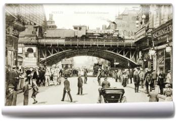 Fototapeta - Friedrichstrasse Postcard