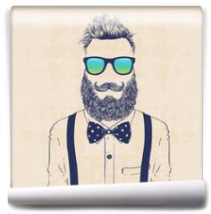 Fototapeta - gentleman hipster