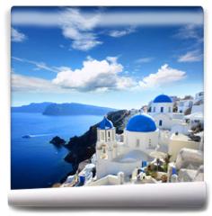 Fototapeta - Grèce - Santorin / Santorini (Oia village)