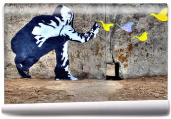 Fototapeta - Graffiti liberté