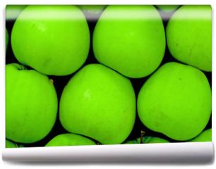 Fototapeta - green apples