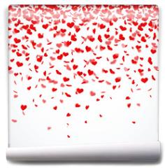 Fototapeta - Herzkonfettiregen
