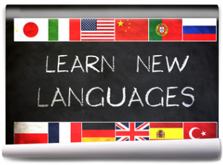 Fototapeta - Learn new languages