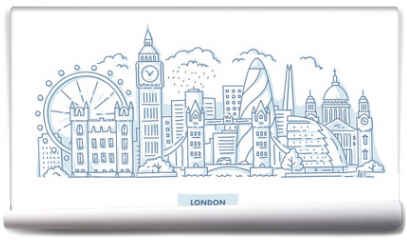 Fototapeta - London City Cityscape