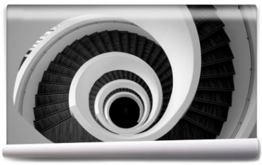 Fototapeta - Modern spiral stairs detail