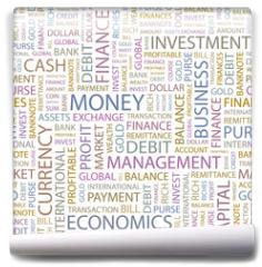 Fototapeta - MONEY. Seamless vector background.